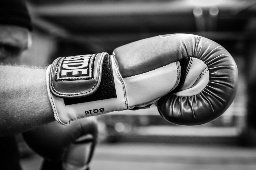guantes para boxeo