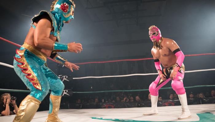 El espectaculo de la lucha libre profesional