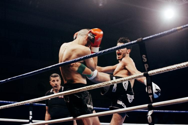 Técnicas de karate en MMA