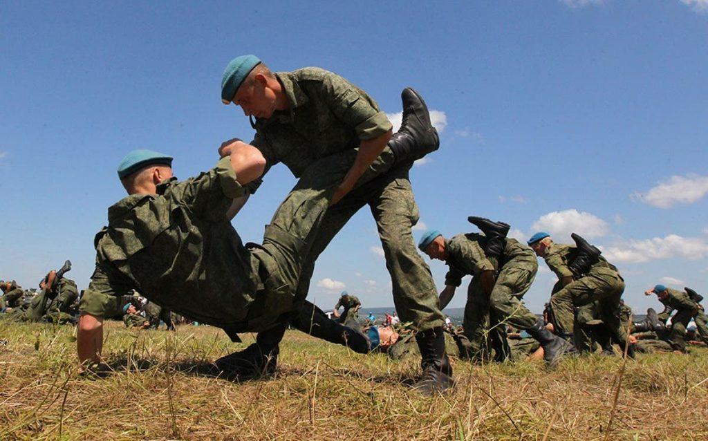 Sambo militar